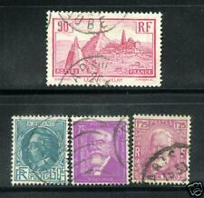 BEAUX TIMBRES N° 290-293 OBLITERES