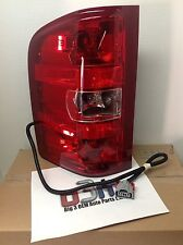 2007-2013 Chevrolet Silverado LH Driver Side Tail Lamp Brake Light Assembly OEM