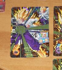DRAGON BALL Z GT DBZ DBS HEROES GOD MISSION CARD PRISM CARTE HGD7-CP2 JAPAN NM