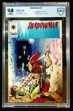 Shadowman #1 CBCS 9.8 1st Full & Origin Shadowman, 1st Nettie Grampion & Samedi