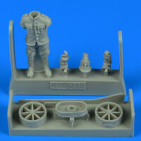 AEROBONUS (by AIRES) 1/48 WWI AIRCRAFT GERMAN MECHANIC FIGURE WITH CART480 218