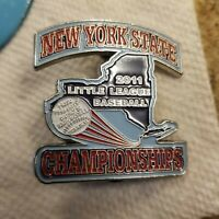 2011 New York District 24 All Star South Shore Little League Baseball Pin WS pin