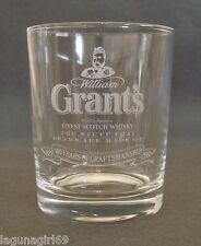 Grant's Finest Scotch Whisky 100 Year Anniversary Glass Pub Bar Whiskey Tumbler