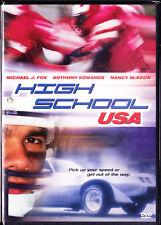 High School USA (DVD, 2004) Michael J. Fox, Nancy Mckeon New