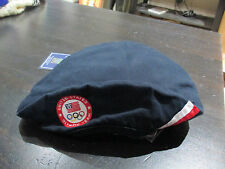 NEW Ralph Lauren Polo USA Olympic Team Beret Hat Cap Blue Pony American Blue Red