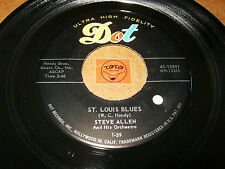 STEVE ALLEN - ST.LOUIS BLUES - IDA SWEET AS APPLE  / LISTEN - ROCK JAZZ POPCORN