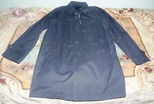Brand New Tommy Hilfiger Mens Trench Coat in Blue Size 44L