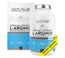 VERGLEICHSSIEGER 2018: ACTIVALUE L-Arginin Spezial-Formel von Dr.med. Wagner