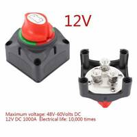 Battery Master Switch Boat Marine Caravan Dual Isolator with 4 Screws 24v/12v gw