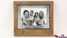 I Love My FAMILY Wooden Picture Photo Frames Home Office Decor Gift GKIFAM19