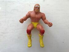 """4"""" WWF WWE HULK HOGAN LJN THUMB WRESTLERS WRESTLING FIGURE TITAN SPORTS 1985"""