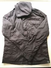 G-STAR Raw - Lightweight Hooded Jacket - Size XL - Brown - Lightly Worn