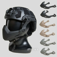 FMA Tactical Rail Folding Arm Half Mask For Helmet / Helmet & Split Type Goggles