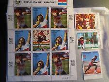 Paraguay Scott #C690-C691 MNH Sheet Olympics 1988 Seoul