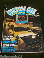CUSTOM CAR - DEC 1973 - KAWASAKI 750 H2 & 900 Z1