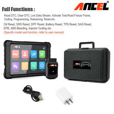 Car OBD2 Scanner WiFi ABS SRS EPB Oil Reset Injector Coding Full system + Tablet