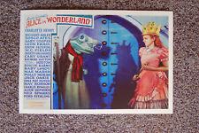 Lewis Carrolls Alice in Wonderland Lobby Card Movie Poster