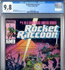 PRIMO:  ROCKET RACCOON #1 Limited NM/MT 9.8 cgc GUARDIANS GOTG '85 Marvel comics