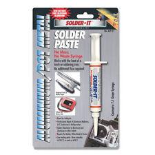 Solder It  Aluminum/Pot Metal Solder Paste, 7.1 Gram Syringe ALP-21
