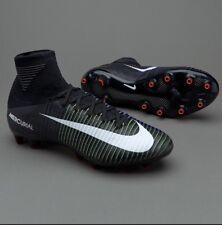 Nike MERCURIAL SUPERFLY V AG Pro acc Nero Verde Blu Misura UK 7 831955-013