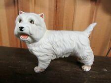New ListingWest Highland White Terrier Ceramic Glass Adorable
