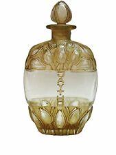 Flacon Lotion Jaytho Jay-Thorpe Sepia René Lalique R.Lalique Perfume Bottle
