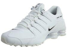 Men's Nike Shox NZ EU White/Black 501524 106 Brand New