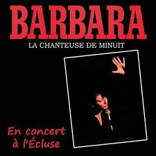 CD Barbara en concert à l'Ecluse / IMPORT