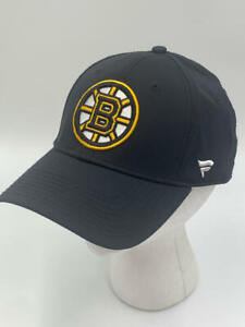 Fanatics Authentic Nhl Headwear Boston Bruins Basic Flex Stretch Fitted Cap- S/M