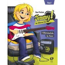 Jimmy! Der Gitarren-Chef 1 - E-Gitarrenschule für Kinder + 1 Plek