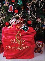 Santa Claus Sack Bag Christmas Adult Costume Accessory