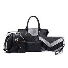 6* Set Womens Handbags Tote Bags Purse Satchel Cross body Messenger Shoulder Bag