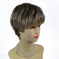 Wiwigs Posh Summer Style Dark Brown & Blonde Short Ladies Wig