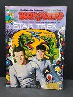 STAR TREK Dinosaur Planet Vintage Book & Record Set 1979 Captain Kirk Mr. Spock