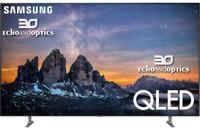 Samsung QN75Q80RAFXZA Flat 75'' QLED HDR 4K HD Amazon Alexa Google 2019 QN75Q80R