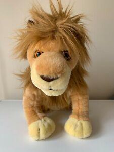 VINTAGE RARE LEMONWOOD ASIA LION KING LARGE 40cms SIMBA SOFT STUFFED PLUSH TOY