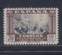 ESPAÑA (1940) MNH NUEVO SIN FIJASELLOS - EDIFIL 895 (70 cts + 20 cts) LOTE 1