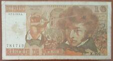 Billet 10 francs Hector BERLIOZ 2 - 3 - 1978 FRANCE X.301