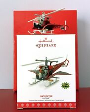 2017 Hallmark BATCOPTER Ornament Batman & Robin 1966 Classic TV Show • Free Ship