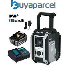 Makita DMR115 DAB Sitio Radio DAB Digital Negro + + Bluetooth + Cargador + Batería