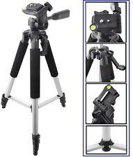 """57"""" Pro Tripod W/Case For JVC GZ-V500 GZ-EX250 GZ-EX210 GZ-EX200 GZ-E10 GZ-VX815"""