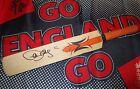 Paul Collingwood (England) signed Woodworm mini bat + COA