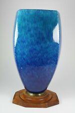 Französische Art Deco Keramik Vase von Paul Milet für Sevres um 1925 (563)