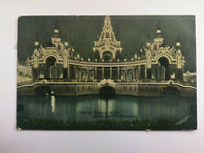 Japan-British Exhibition 1910 colour postcard Imperial Tower& official postmark