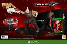 Tekken 7: Collector's Edition [Xbox One XB1, Fighting Heihachi Figure CD] NEW