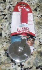 Fondant Cutter with Red Soft Handle, Cake Boss