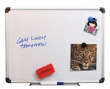 Cathedral Magnetic Whiteboard 30cmx45cm with Wall Fixings & Attachable Pen Tray
