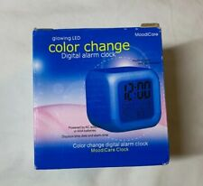 Cointone LED Alarm | Color Changing Digital Alarm Clock | Battery Powered