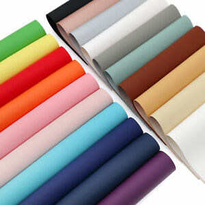 20PCS Mixed 15cm x 20cm Faux Leather Fabric Bundle A5 Sheets For Bows & Earrings
