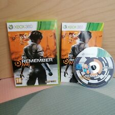Remember Me Capcom Xbox 360 PAL Complete Tested And Working FREE POSTAGE